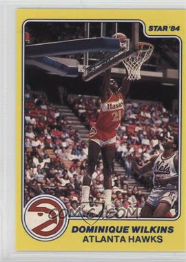1983-84 Star All-Rookie Team - [Base] #8 - Dominique Wilkins