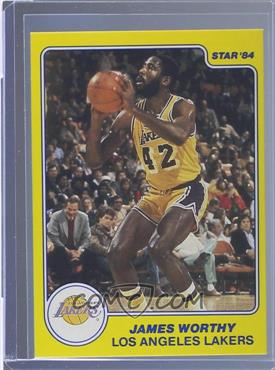 1983-84 Star All-Rookie Team #10 - James Worthy
