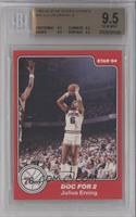 Doc for 2 (Julius Erving) [BGS 9.5]