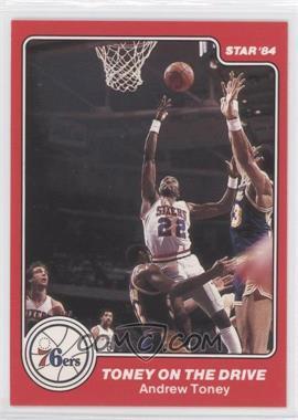 1983-84 Star Philadelphia 76ers 1982-83 NBA World Champions #11 - Toney on the Drive (Andrew Toney)
