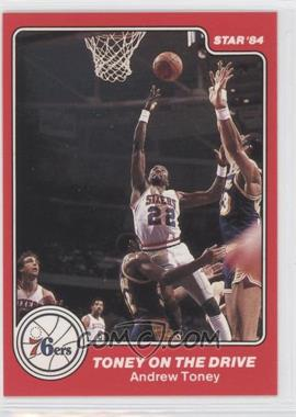 1983-84 Star Philadelphia 76ers 1982-83 NBA World Champions #11 - Toney on the Drive (Andrew Toney)