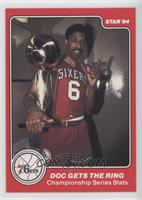 Doc Gets the Ring (Julius Erving)