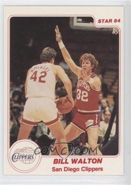 1983-84 Star #121 - Bill Walton