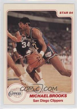 1983-84 Star #122 - Michael Brooks