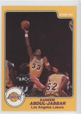 1983-84 Star #14 - Kareem Abdul-Jabbar