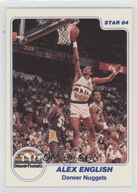 1983-84 Star #186 - Alex English