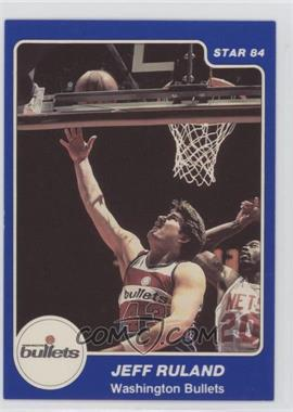 1983-84 Star #204 - Jeff Ruland