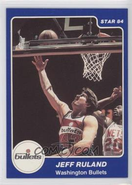 1983-84 Star #204 - Jeff Ruland
