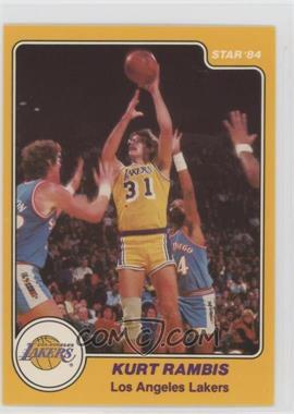 1983-84 Star #21 - Kurt Rambis