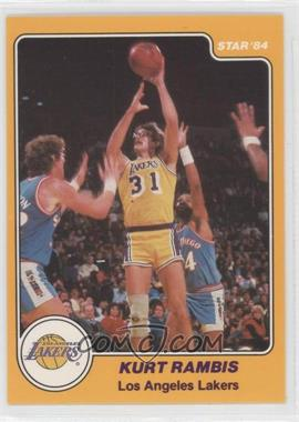 1983-84 Star #21 - Kurt Rambis