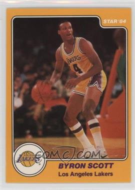 1983-84 Star #22 - Byron Scott