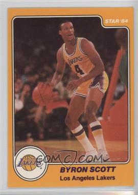1983-84 Star #22 - Byron Scott