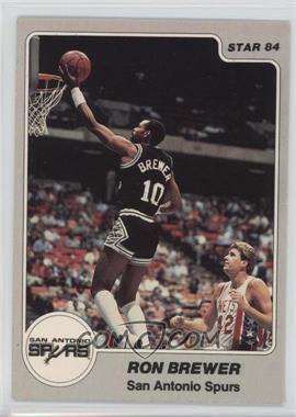 1983-84 Star #243 - Ron Brewer