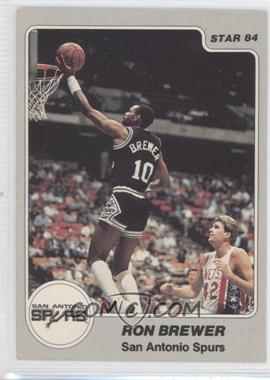 1983-84 Star #243 - Ron Brewer