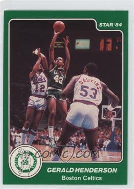 1983-84 Star #31 - Gerald Henderson