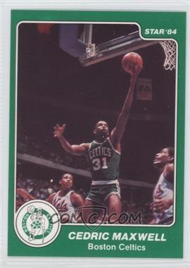 1983-84 Star #33 - Cedric Maxwell