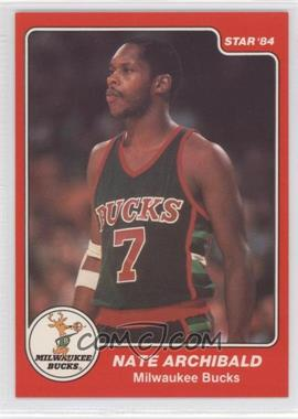 1983-84 Star #39 - Nate Archibald