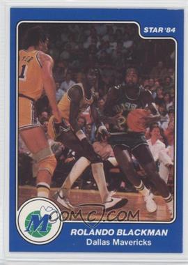 1983-84 Star #50 - Rolando Blackman