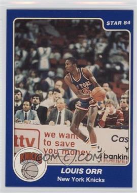 1983-84 Star #66 - Louis Orr