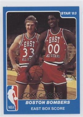 1983 Star NBA All-Star Game - [Base] #29 - Boston Bombers (East Box Score)