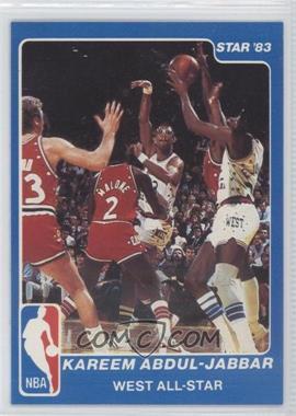 1983 Star NBA All-Star Game #14 - Kareem Abdul-Jabbar