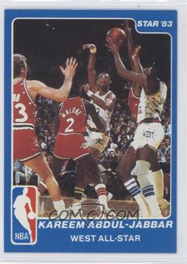 1983 Star NBA All-Star Game #14 - Kareem Abdul-Jabbar