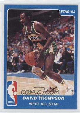 1983 Star NBA All-Star Game #22 - David Thompson