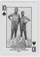 Captains & All Americans Mark Aguirre and Clyde Bradshaw 1980-81