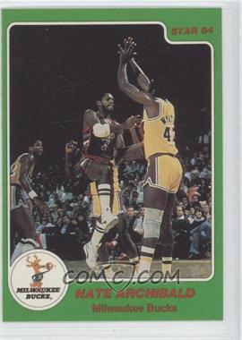 1984-85 Star - Arena Set #1 - Nate Archibald
