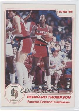 1984-85 Star - [Base] #169 - Bernard Thompson
