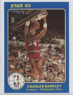 1984-85 Star - NBA Court Kings 5x7 #41 - Charles Barkley