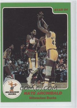 1984-85 Star Arena Set #1 - Nate Archibald
