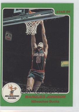 1984-85 Star Arena Set #5 - Marques Johnson