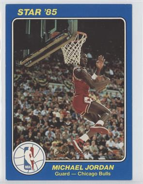 1984-85 Star NBA Court Kings 5x7 #26 - Michael Jordan