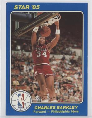 1984-85 Star NBA Court Kings 5x7 #41 - Charles Barkley