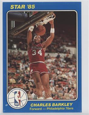 1984-85 Star NBA Court Kings 5x7 #41 - Charles Barkley