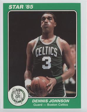 1984-85 Star Team Supers Boston Celtics 5 x 7 #4 - Dennis Johnson