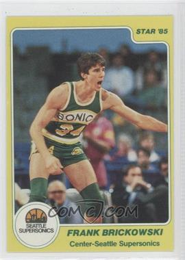 1984-85 Star #115 - Frank Brickowski