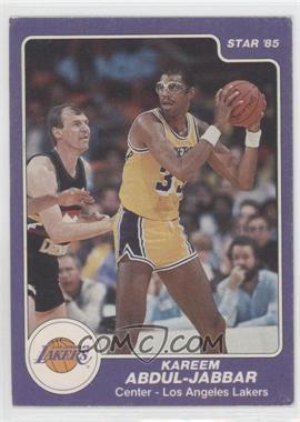 1984-85 Star #173 - Kareem Abdul-Jabbar