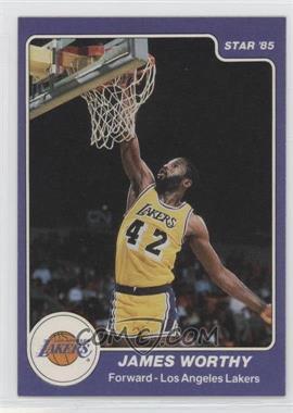 1984-85 Star #184 - James Worthy