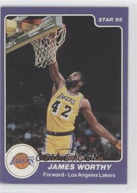 1984-85 Star #184 - James Worthy