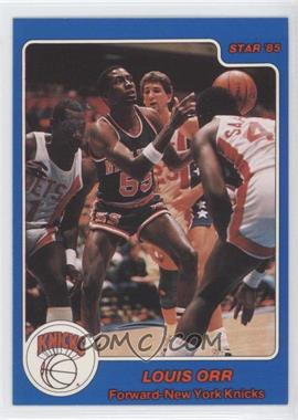 1984-85 Star #32 - Louis Orr