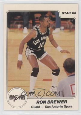 1984-85 Star #66 - Ron Brewer