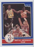 Bobby Jones, Michael Cooper, Tree Rollins, Sidney Moncrief, Maurice Cheeks
