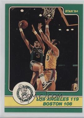 1984 Star Celtics Champs #19 - Los Angeles 119, Boston 108