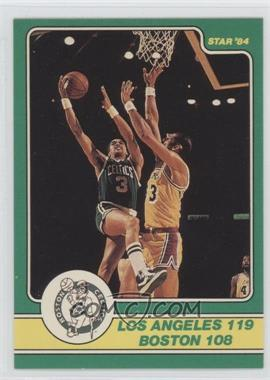 1984 Star Celtics Champs #19 - Los Angeles 119, Boston 108