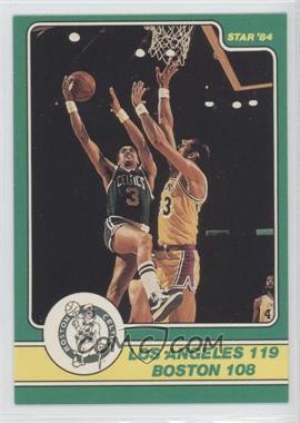 1984 Star Celtics Champs #19 - [Missing]