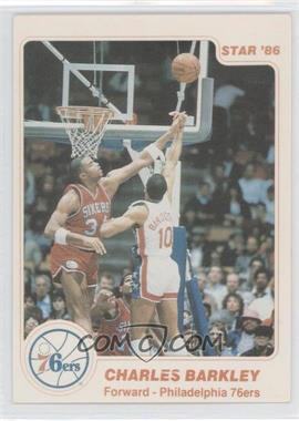 1985-86 Star - [Base] #2 - Charles Barkley
