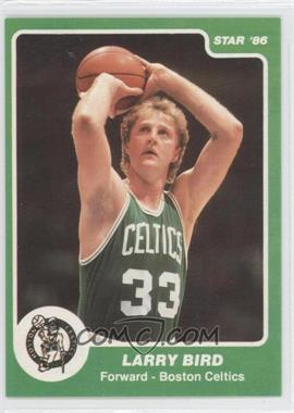 1985-86 Star #95.1 - Larry Bird (Green Border)