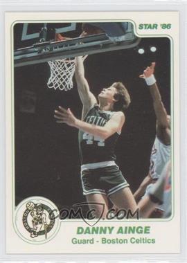 1985-86 Star #96.1 - Danny Ainge (White Border)